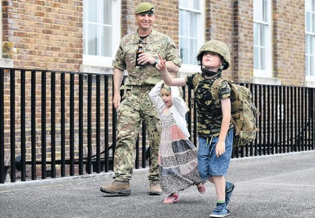 Our heroes back from Afghanistan